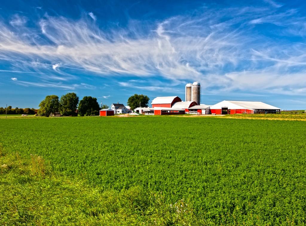 American country farm